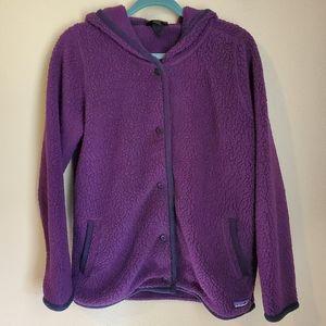Women's Patagonia Button-up Fleece Size L